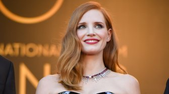 Jessica Chastain at the Cannes Film Festival  Arts and culture