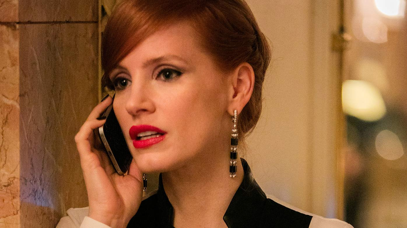 Piaget - Jessica Chastain's Miss Sloane character in Piaget