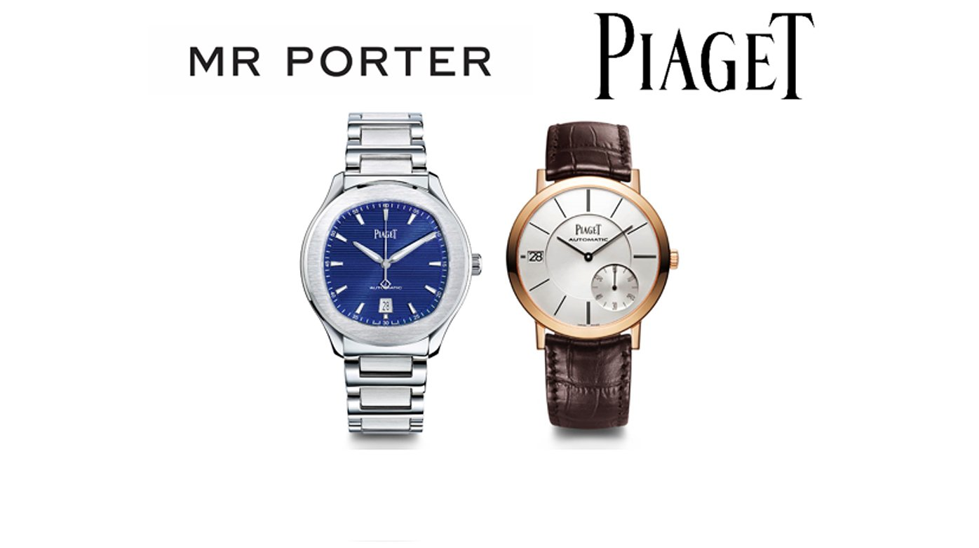 Piaget - Mr porter to launch Piaget watches and jewellery in September