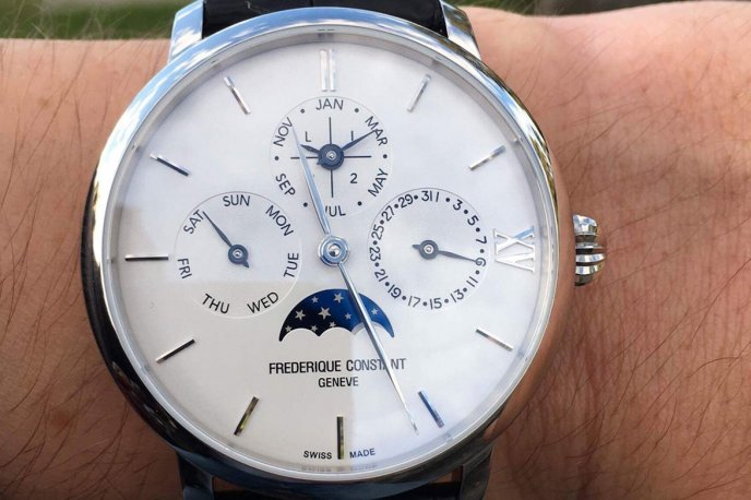 Slimline Manufacture Perpetual Calendar, unique piece Trends and style