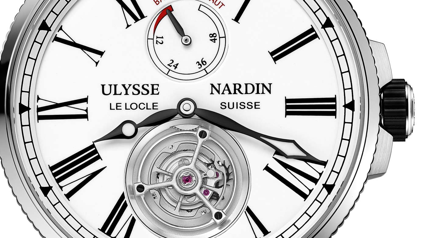 Ulysse Nardin - Tourbillon Marine Grand Feu Automatique, unique piece