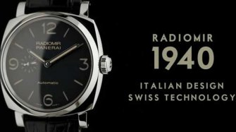 Video. Radiomir 1940: Italian elegance, Timeless design and Swiss technology Trends and style