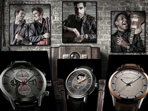 Raymond Weil - Three unique Music Special Editions