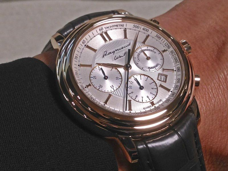 Raymond Weil - Baselworld - In the name of the patriarch