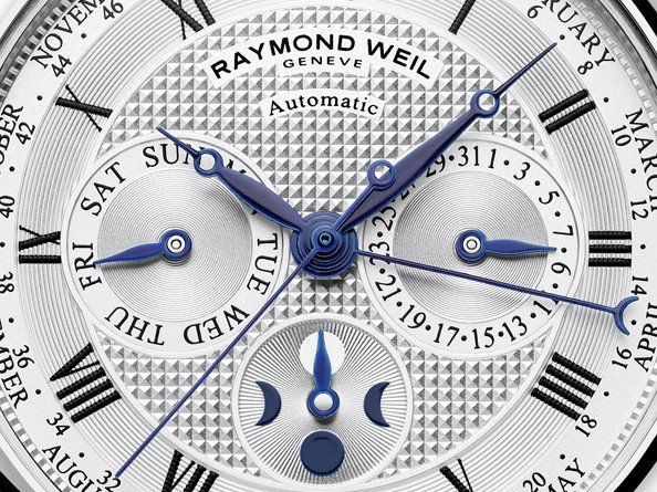 Raymond Weil  - Video. Maestro Automatic Moon Phase