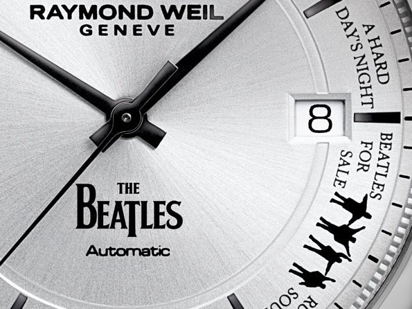 Raymond Weil - The Beatles watch celebrates the greatest band of all time