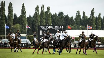 Official timekeeper of the Chantilly Polo Club  Sport