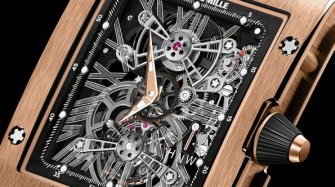 Richard Mille RM 017 Tourbillon Extra plat Innovation et technique