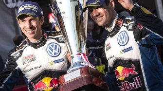 Sébastien Ogier winner at Monte Carlo