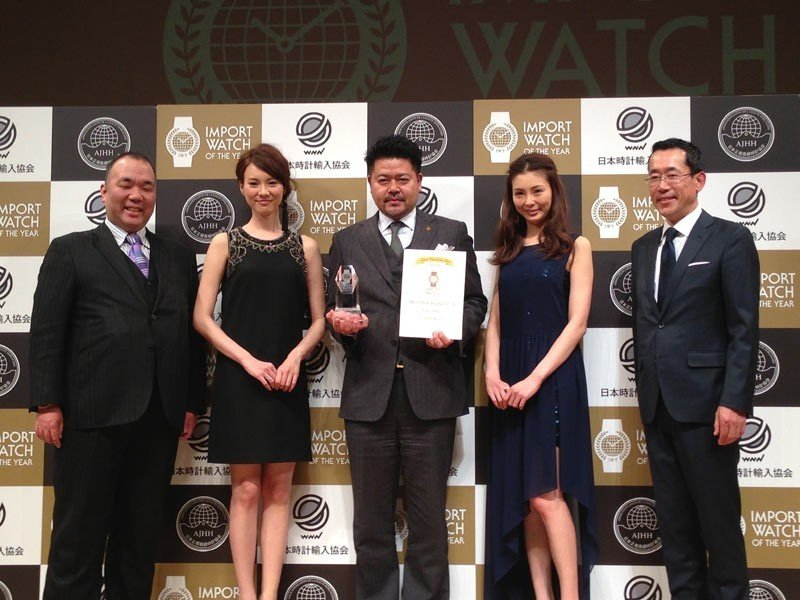 Roger Dubuis - The Excalibur Quatuor awarded in Japan