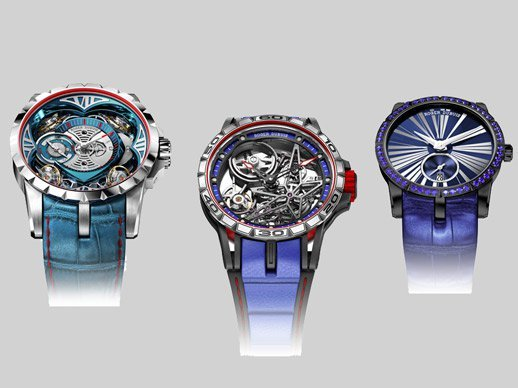 Roger Dubuis - Rhapsody in blue – SIHH 2017 preview