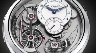 Winner of the Men's Complication category  Trends and style