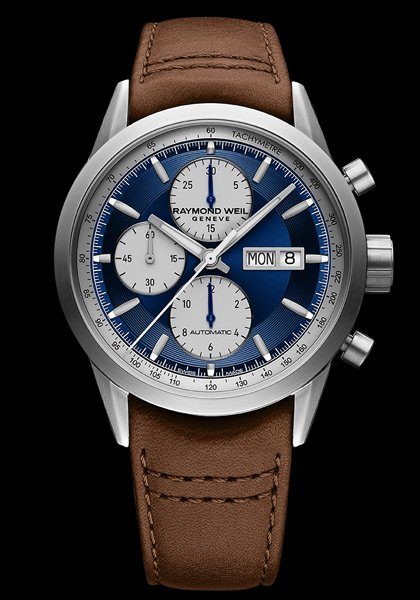 New look for the Freelancer Chronograph