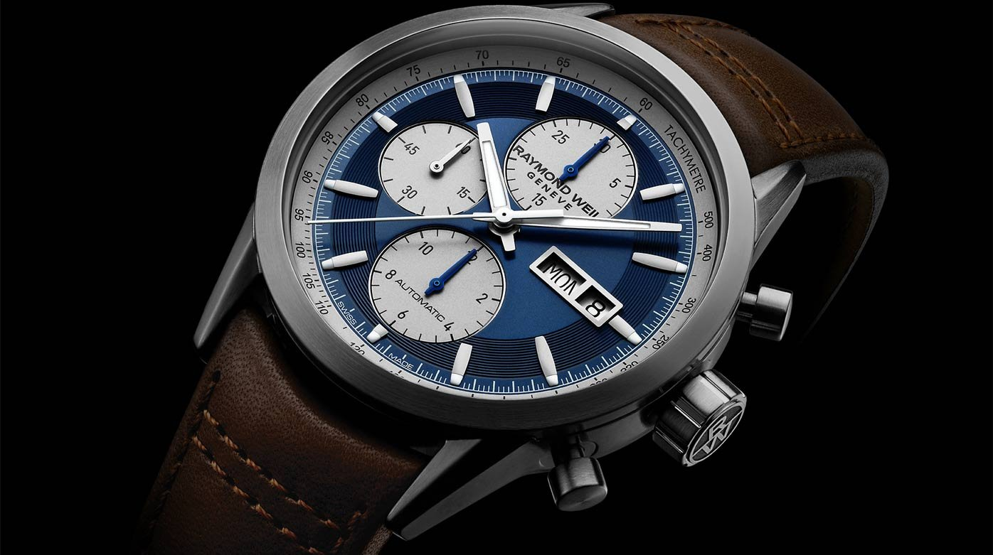 Raymond Weil - The Chronograph for the Free-Spirited