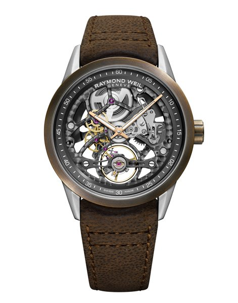 What We Love About the new Raymond Weil Freelancer Calibre 1212 Skeleton