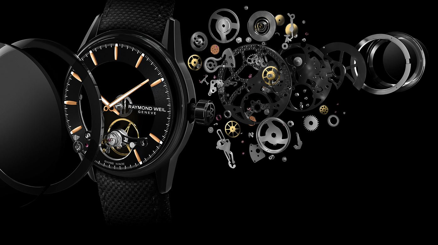 Raymond Weil - Freelancer Calibre RW1212 Skeleton