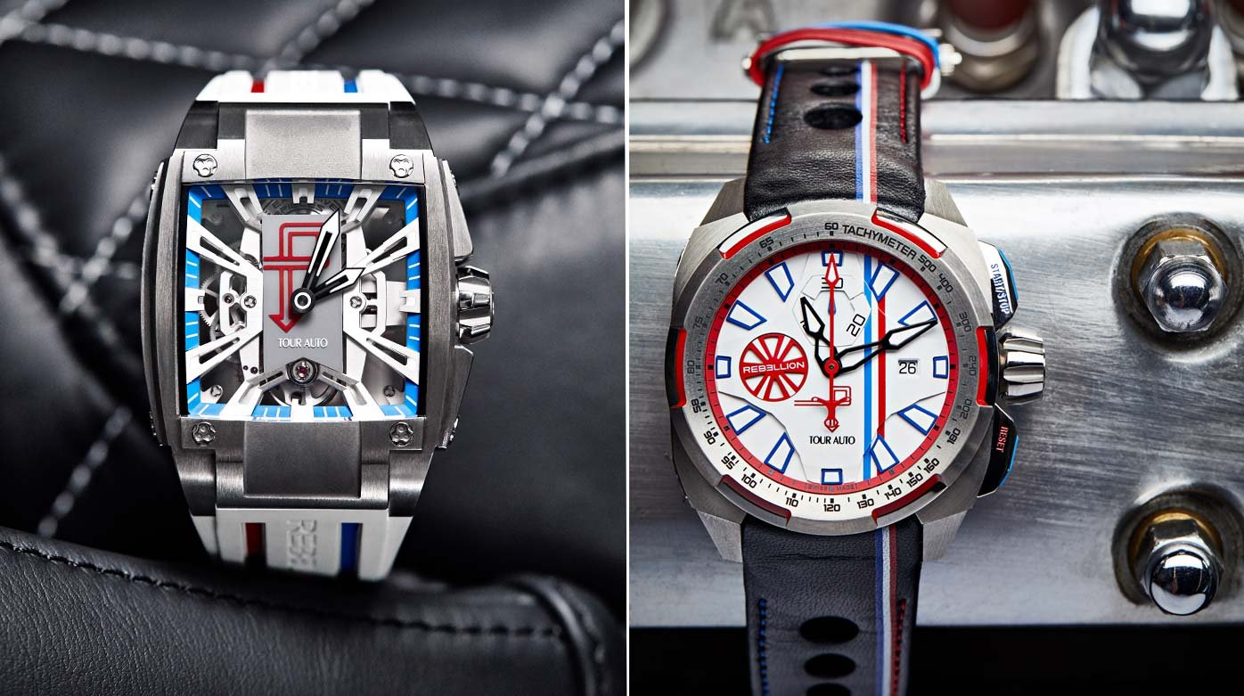 Rebellion - Two watches for the Tour Auto