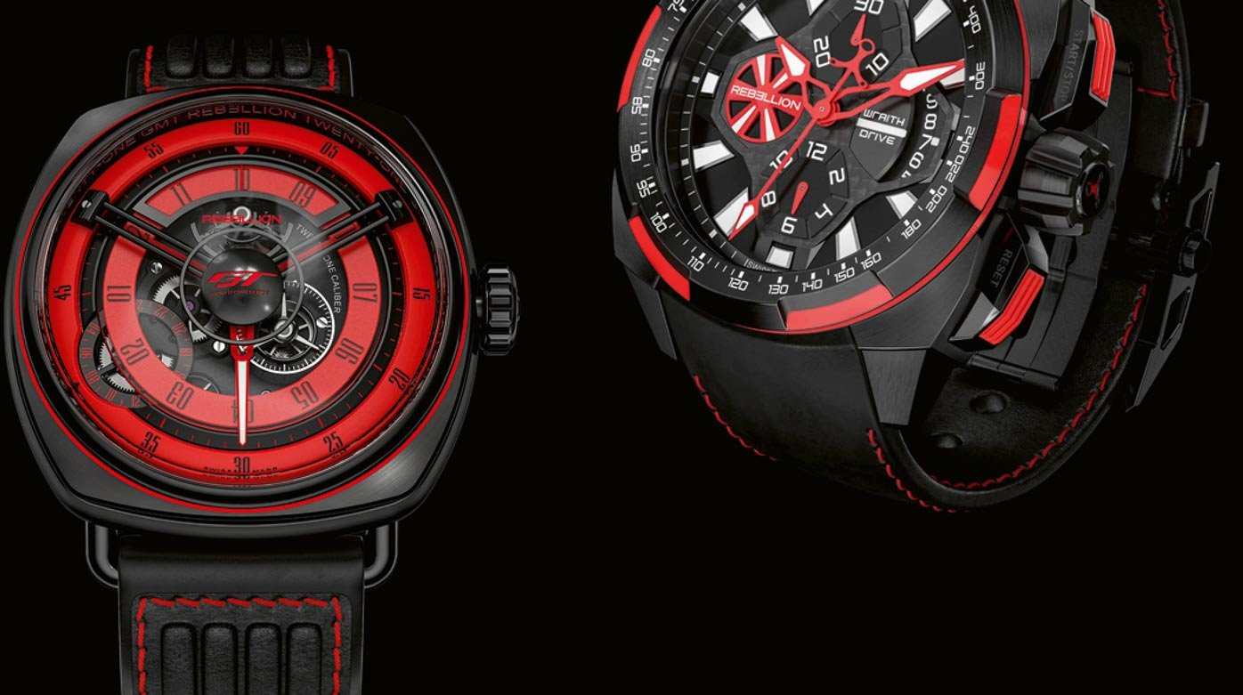 Rebellion Timepieces - On track