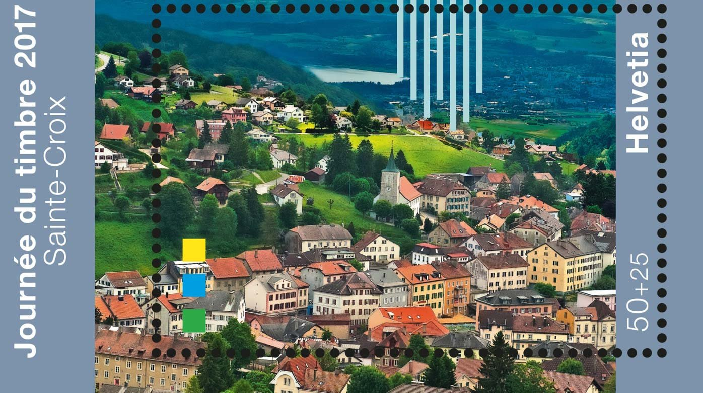 Reuge - Timbre poste suisse