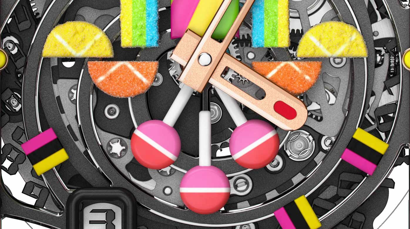 Richard Mille - Richard Mille's sweet tooth