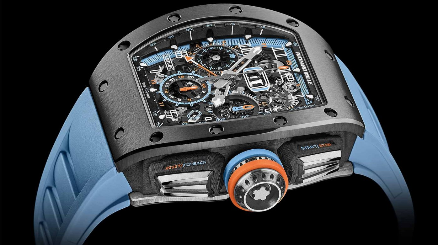 Richard Mille -  RM 11-05 Automatique Flyback Chronographe GMT