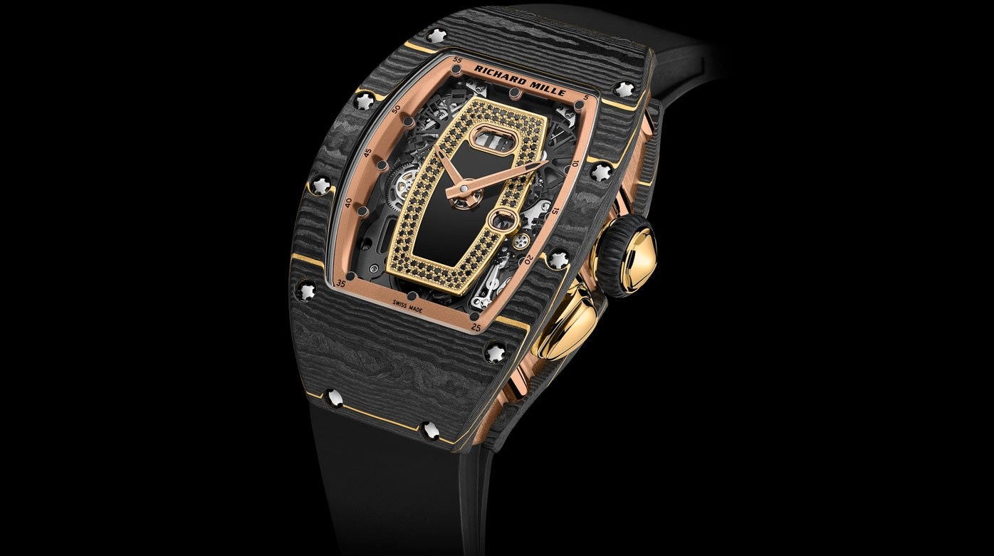Richard Mille - RM 07-01 et RM 037 Carbone TPT® or