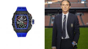 RM 11-04 Automatic Flyback Chronograph Roberto Mancini Trends and style