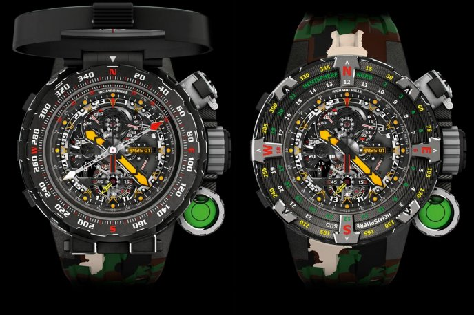 Superheroes and the Richard Mille RM 25-01 Trends and style