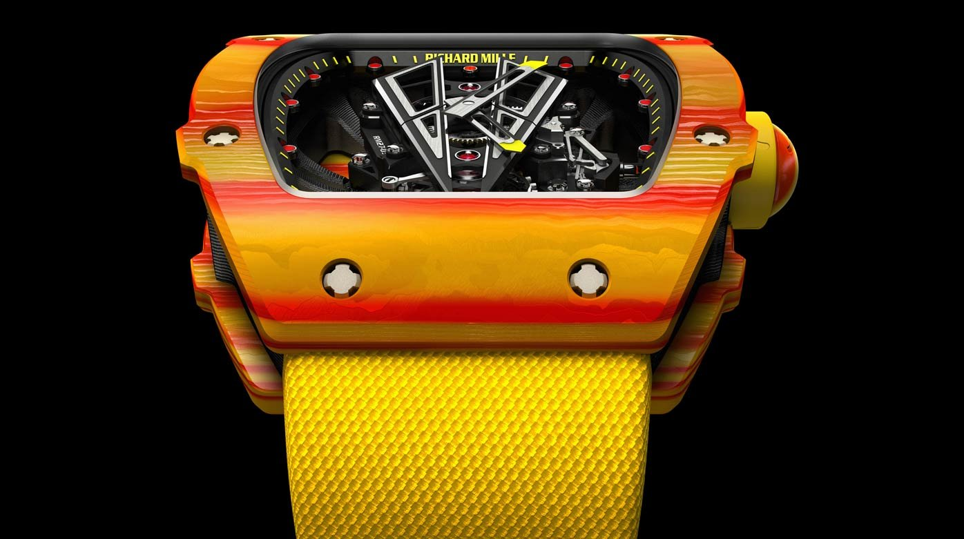 Richard Mille Tourbillon Rm 27 03 Rafael Nadal Innovation And Technology Worldtempus