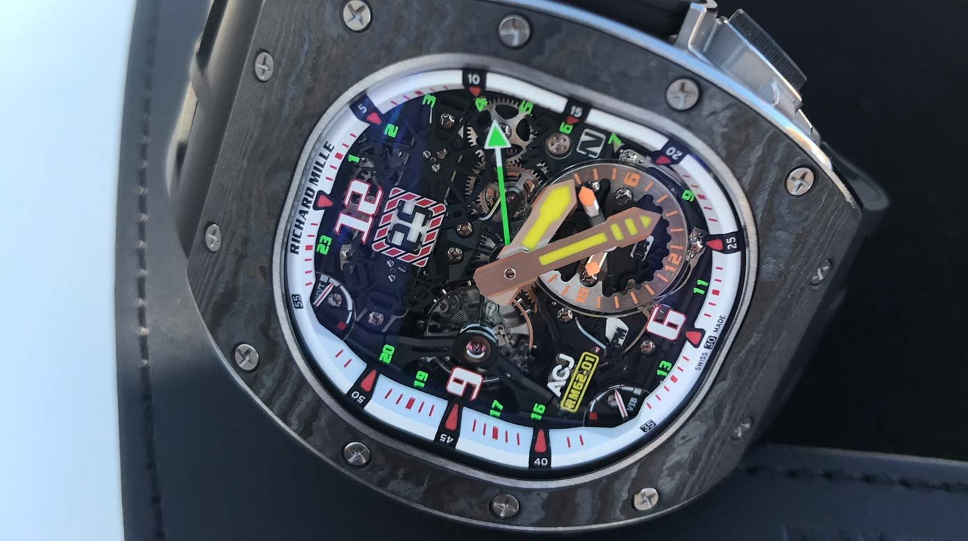 Richard Mille - Flying high with Richard Mille