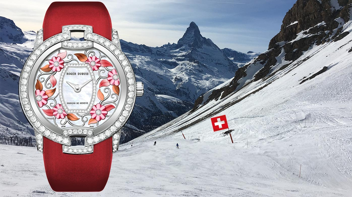 Roger Dubuis - A Swiss special Blossom Velvet Red