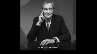 A tribute to Mr Roger Dubuis People and interviews