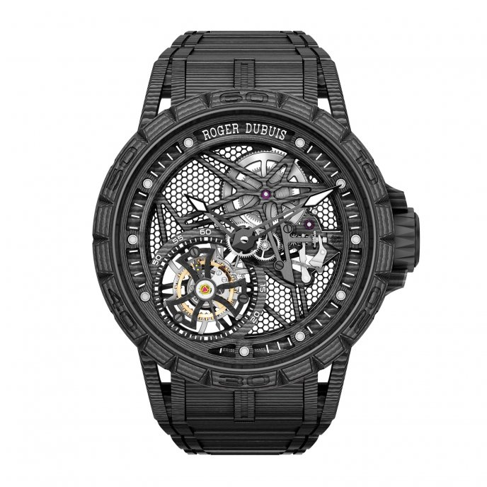 Excalibur Spider Carbon – Tourbillon volant