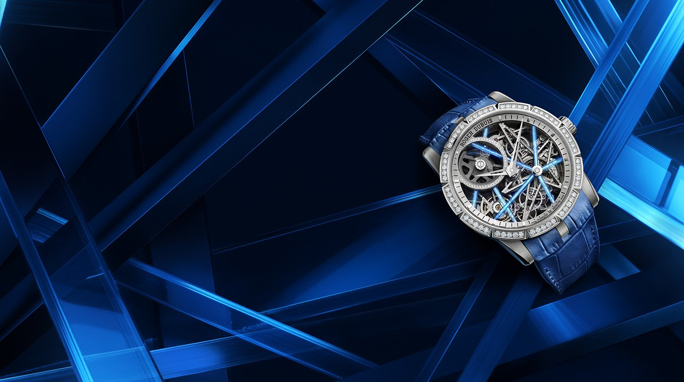 Roger Dubuis - Excalibur Blacklight Trilogy