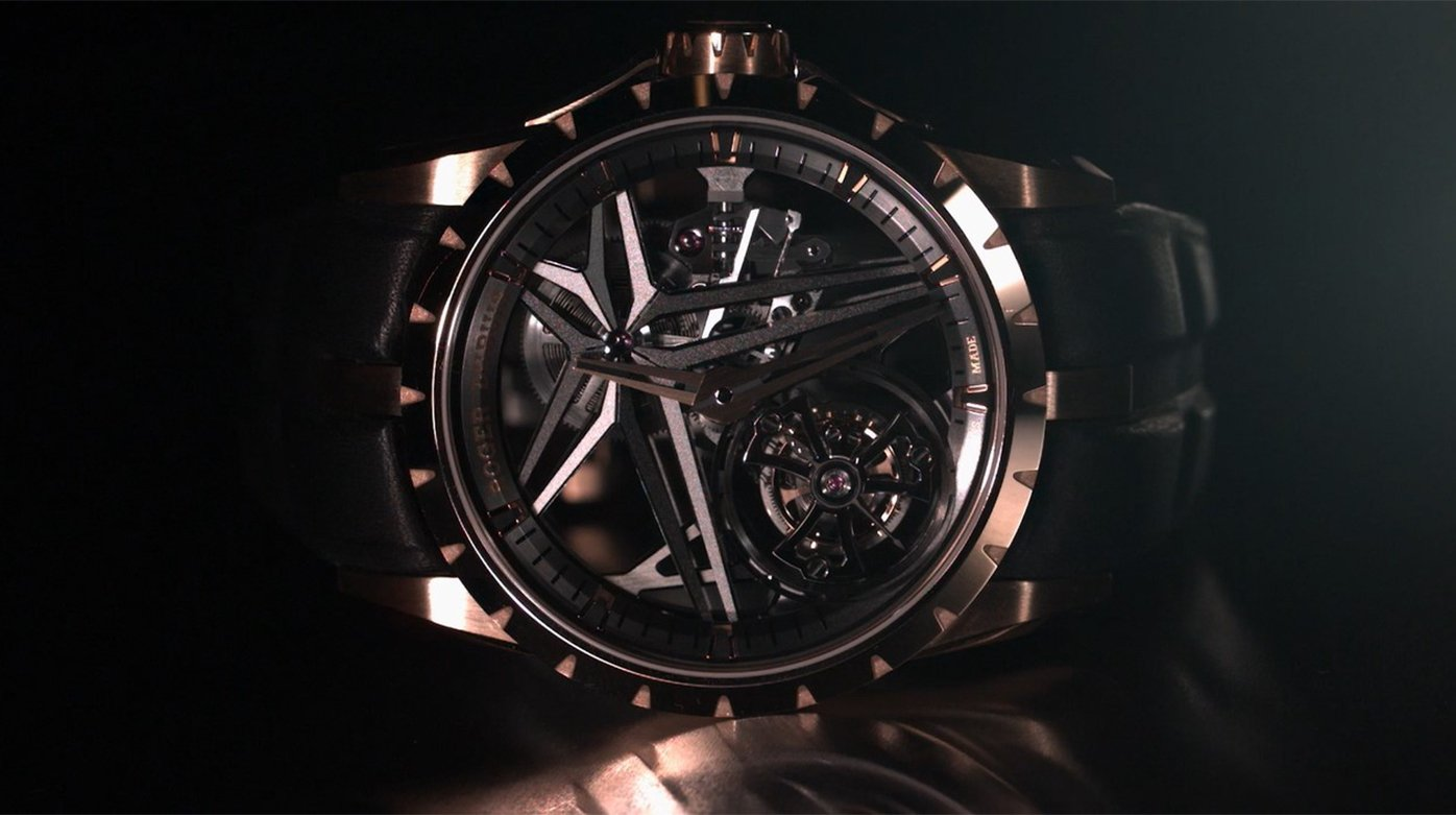 Roger Dubuis - Excalibur Single Flying Tourbillon