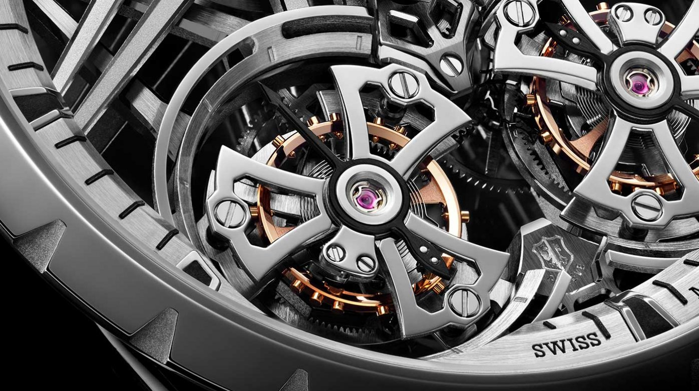 Roger Dubuis - Excalibur Skeleton Double Flying Tourbillon