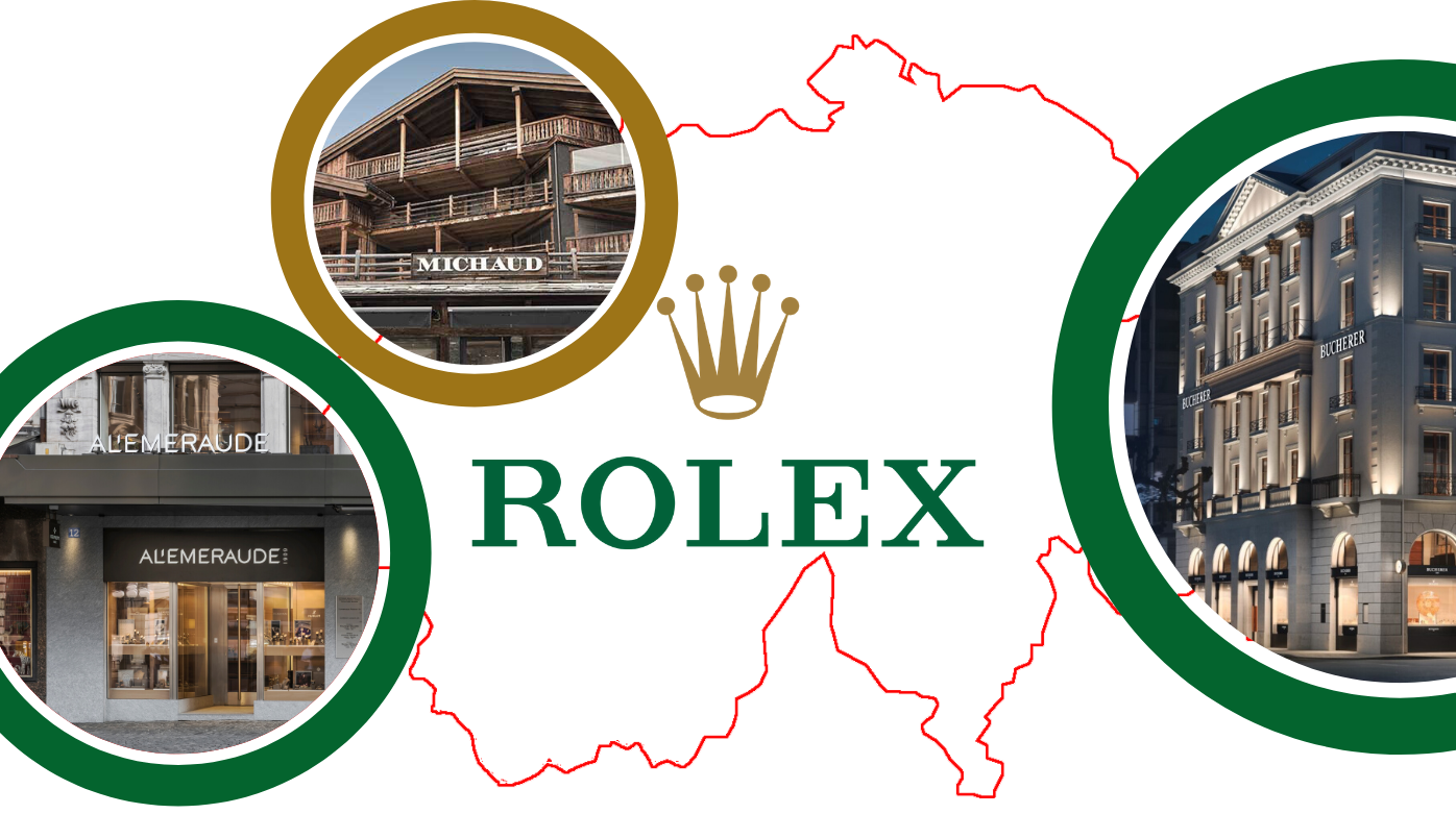 Rolex - The Best Boutiques in Switzerland