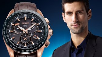 Astron GPS Solar Dual-Time Novak Djokovic Limited Edition
