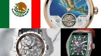 Watches decked out in Mexican colours Exhibitions