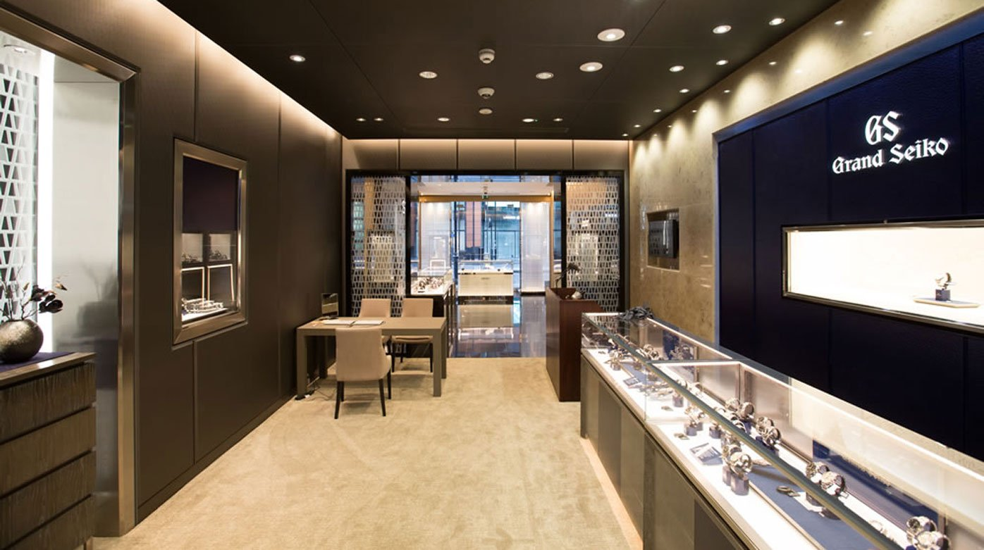 Seiko - New boutique in the heart of London