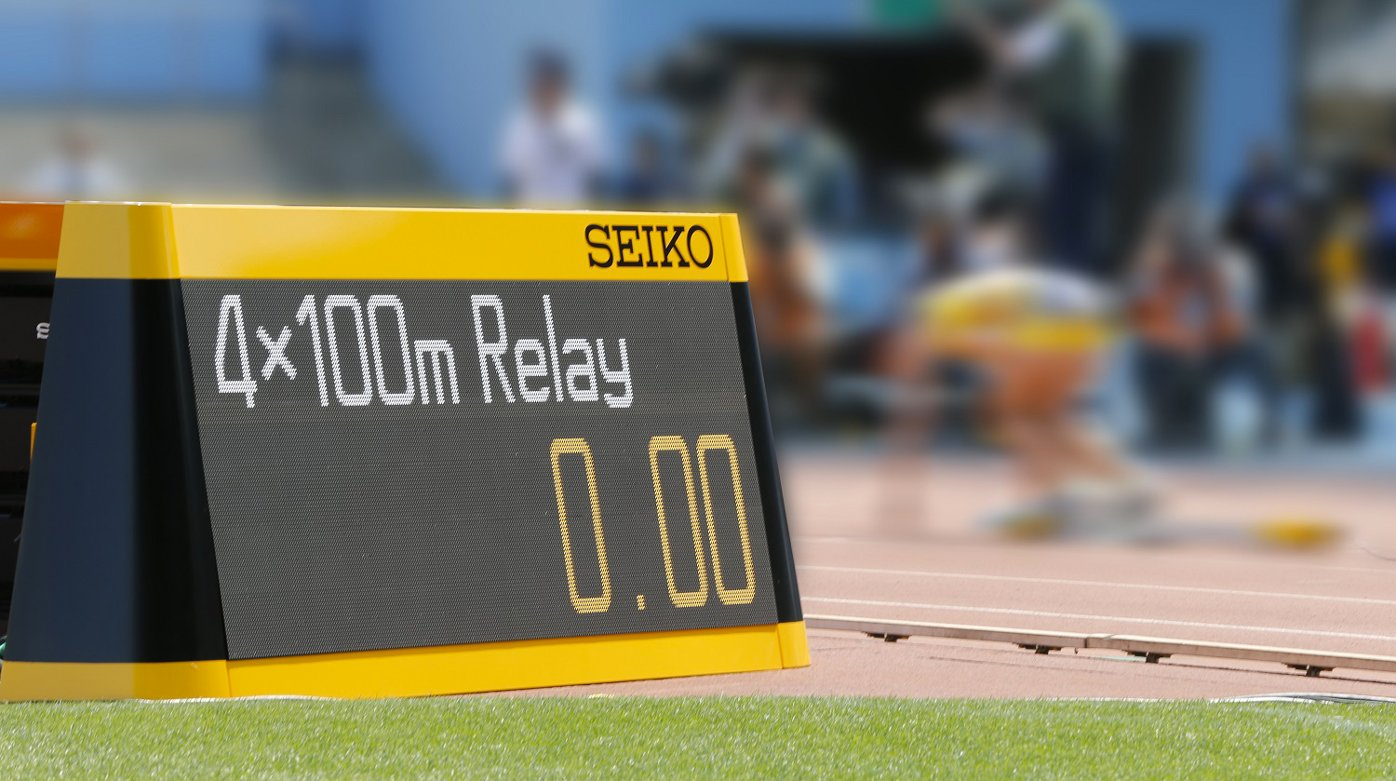 Seiko - Official timer of the 16th IAAF World Championships