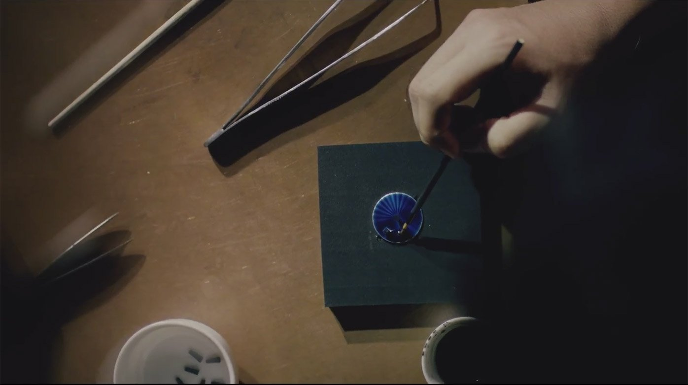 Seiko - The art of Shippo enamelling with Wataru Totani