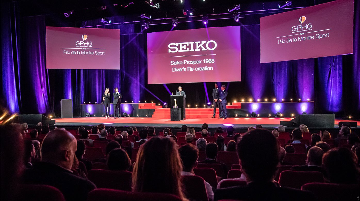 Seiko - Seiko Prospex wins the Sports watch prize