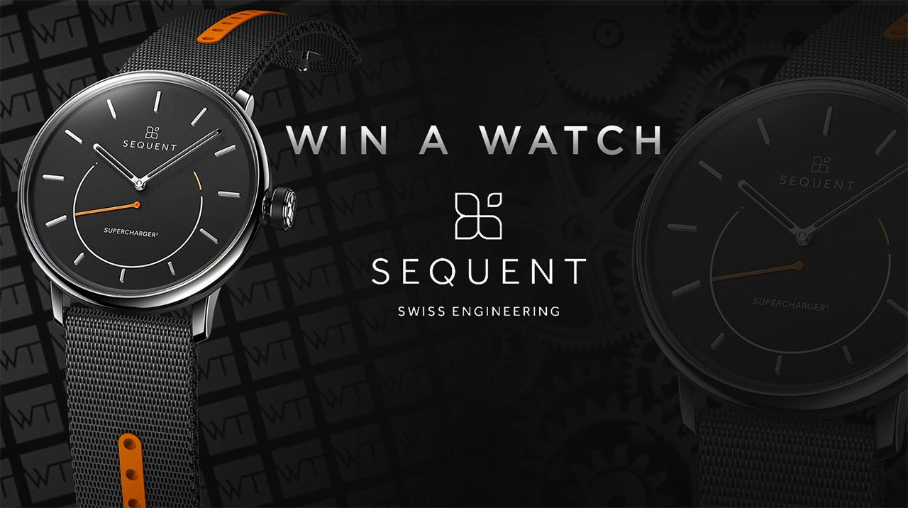 Sequent - Win a SuperCharger² Steel edition watch
