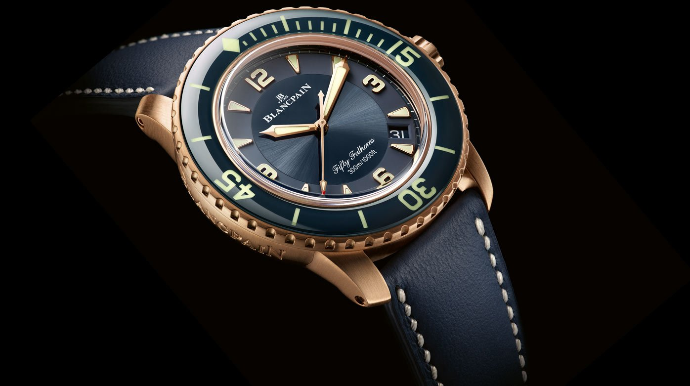 "Why not...? - A ""Californian"" Blancpain Fifty Fathoms"