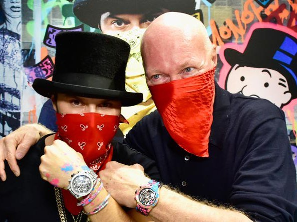 TAG Heuer  - Alec Monopoly joins TAG Heuer family