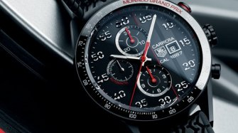 Carrera Calibre 1887 Chronograph Monaco Grand Prix Limited Edition Style & Tendance