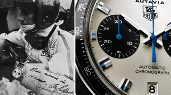Jo Siffert and the coolest watch