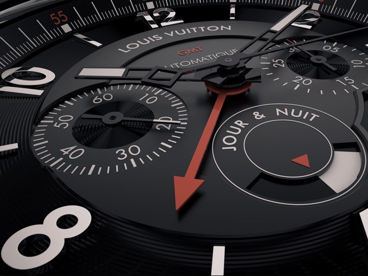 Louis Vuitton - A GMT marching to the beat of its own tambour !