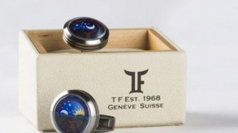 TF Est. 1968 – Moon Phase cufflinks Arts and culture
